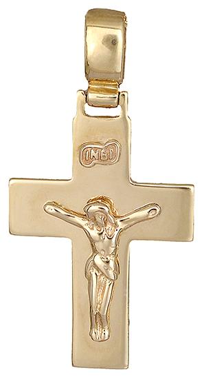 Σταυροί Βάπτισης - Αρραβώνα Χρυσός σταυρός 14Κ 002562 Ανδρικό Χρυσός 14 Καράτια