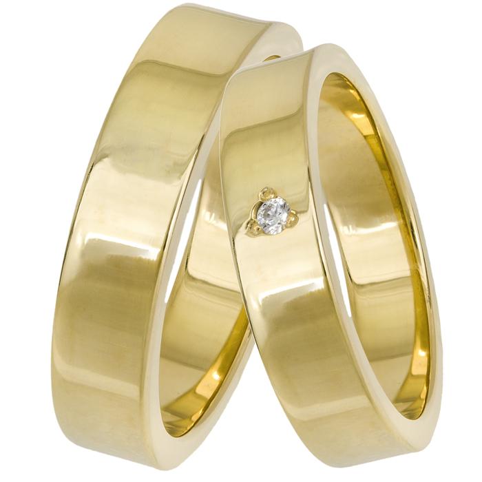 Χρυσές πλακέ βέρες Κ14 025655 025655 Χρυσός 14 Καράτια e7c9a769cf3