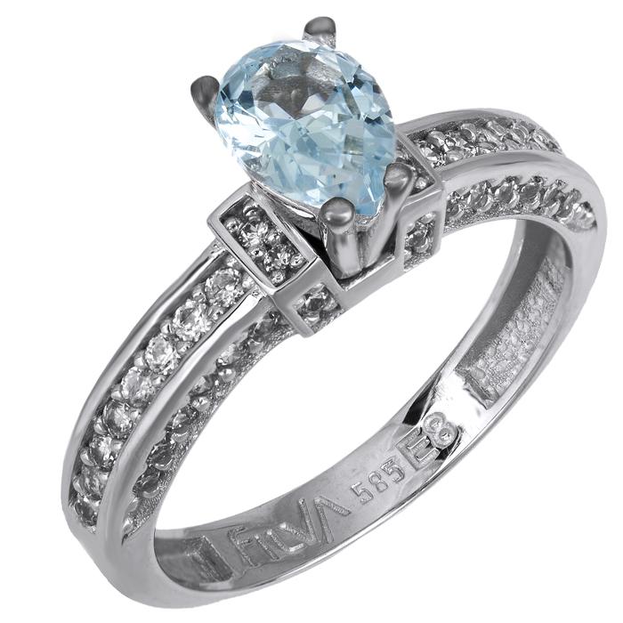 Δαχτυλίδι swarovski λευκόχρυσο Κ14 025742 025742 Χρυσός 14 Καράτια