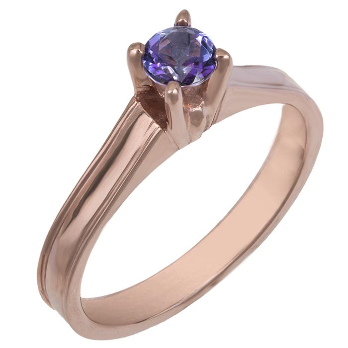 Ροζ gold δαχτυλίδι Swarovski K14 025777 025777 Χρυσός 14 Καράτια