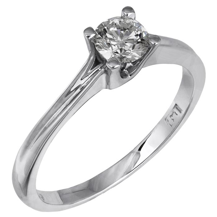 Μονόπετρο δαχτυλίδι Κ18 με μπριγιάν 025807 025807 Χρυσός 18 Καράτια