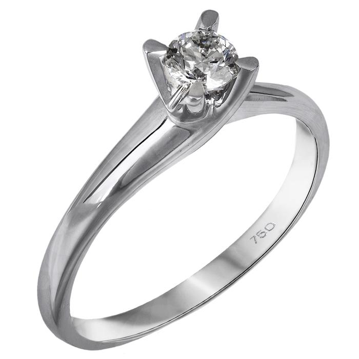 Διαμαντένιο λευκόχρυσο μονόπετρο Κ18 025808 025808 Χρυσός 18 Καράτια ... ea2a75044b3
