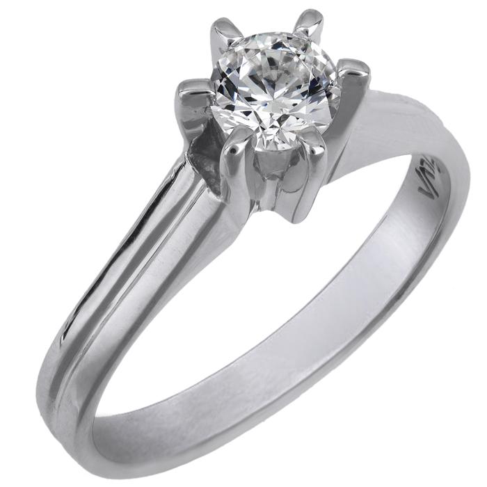 Δαχτυλίδι χειροποίητο swarovski λευκόχρυσο Κ14 026000 026000 Χρυσός 14 Καράτια