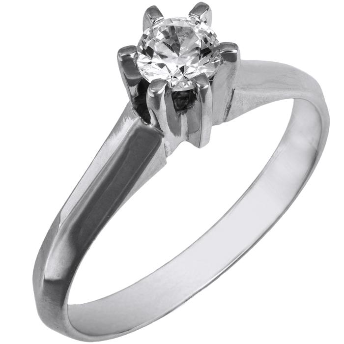 Λευκόχρυσο γυναικείο δαχτυλίδι swarovski Κ14 026004 026004 Χρυσός 14 Καράτια