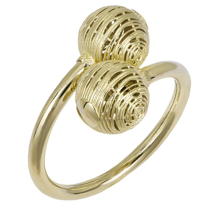 Χρυσό δαχτυλίδι Κ14 με σχέδιο 026447 026447 Χρυσός 14 Καράτια ... 4eb1f830251