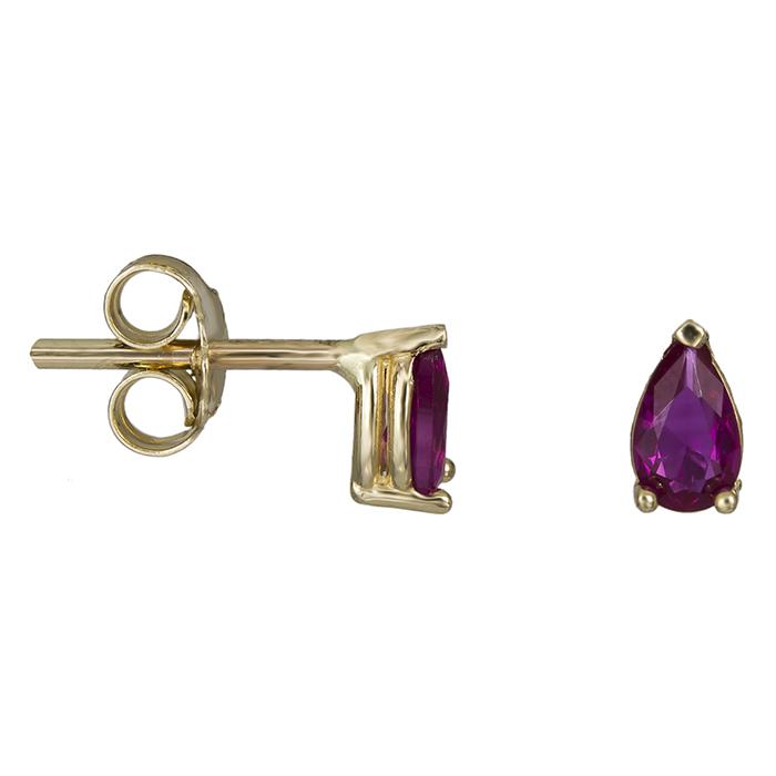 Χρυσά σκουλαρίκια δάκρυ Κ14 026475 026475 Χρυσός 14 Καράτια