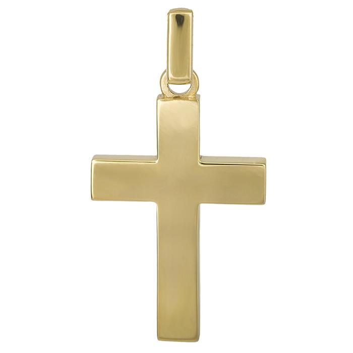 Σταυροί Βάπτισης - Αρραβώνα Χρυσός αντρικός σταυρός Κ14 026650 026650 Ανδρικό Χρυσός 14 Καράτια