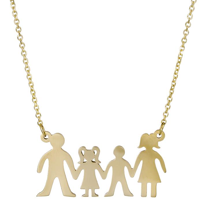 Οικογένεια χρυσή 14Κ 026812 026812 Χρυσός 14 Καράτια