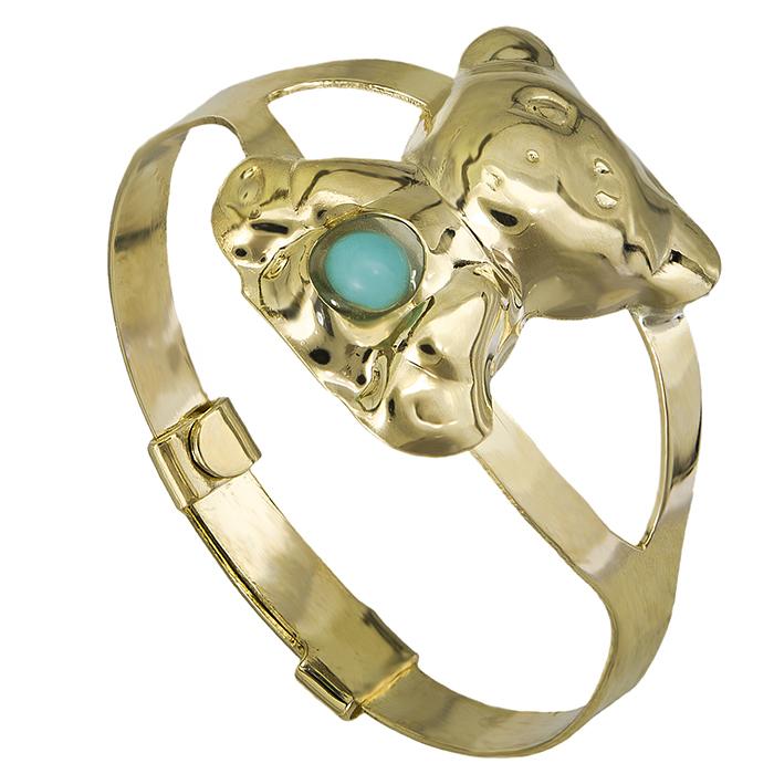 Δαχτυλίδι Κ9 αρκουδάκι με ζιργκόν 026833 026833 Χρυσός 9 Καράτια