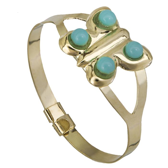 Δαχτυλίδι Κ9 πεταλούδα με ζιργκόν 026834 026834 Χρυσός 9 Καράτια