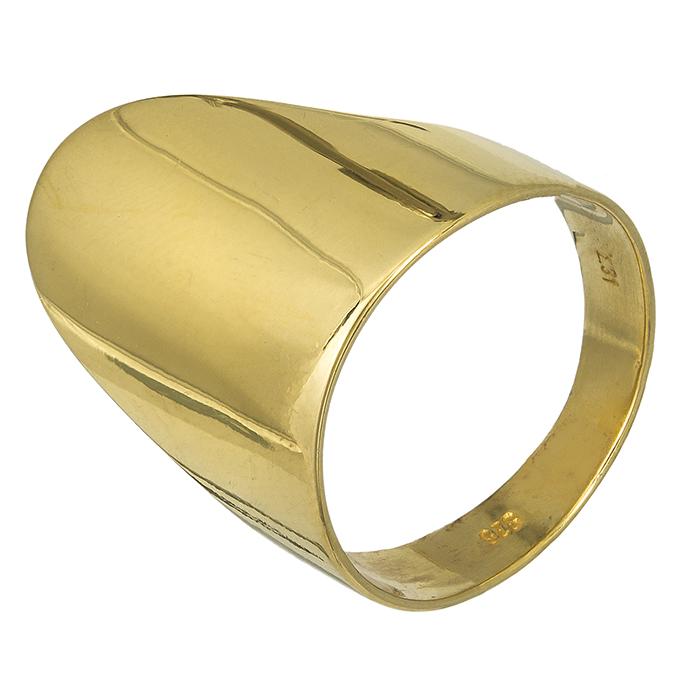 Επίχρυσο δαχτυλίδι 027125 027125 Ασήμι
