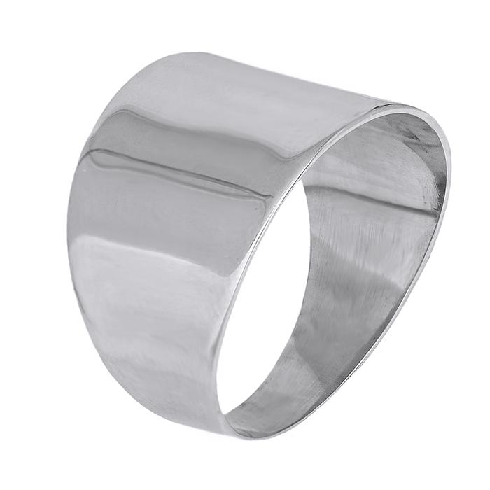 Χειροποίητο ασημένιο δαχτυλίδι 925 λουστρέ 028715 028715 Ασήμι