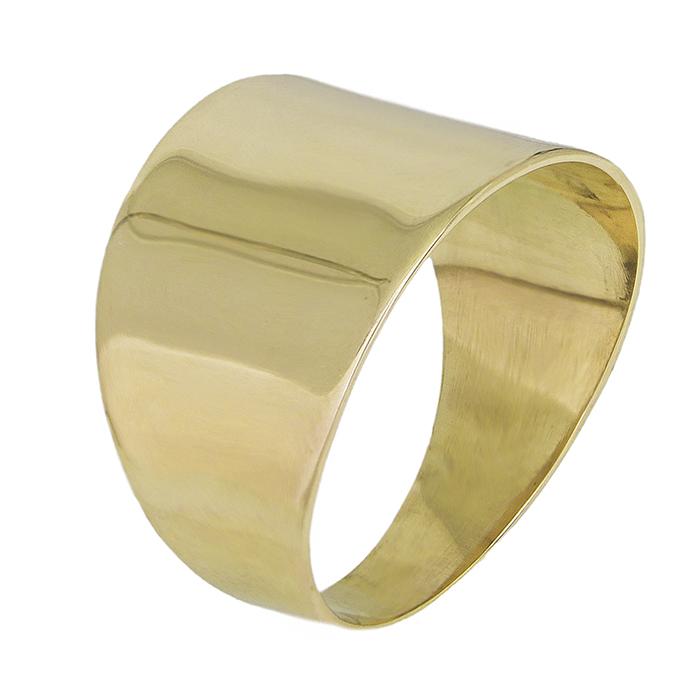 Επίχρυσο δαχτυλίδι 925 λουστρέ 028716 028716 Ασήμι