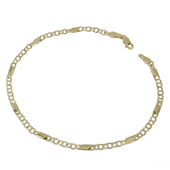 Ανδρική καδένα χεριού Κ14 029137 029137 Χρυσός 14 Καράτια