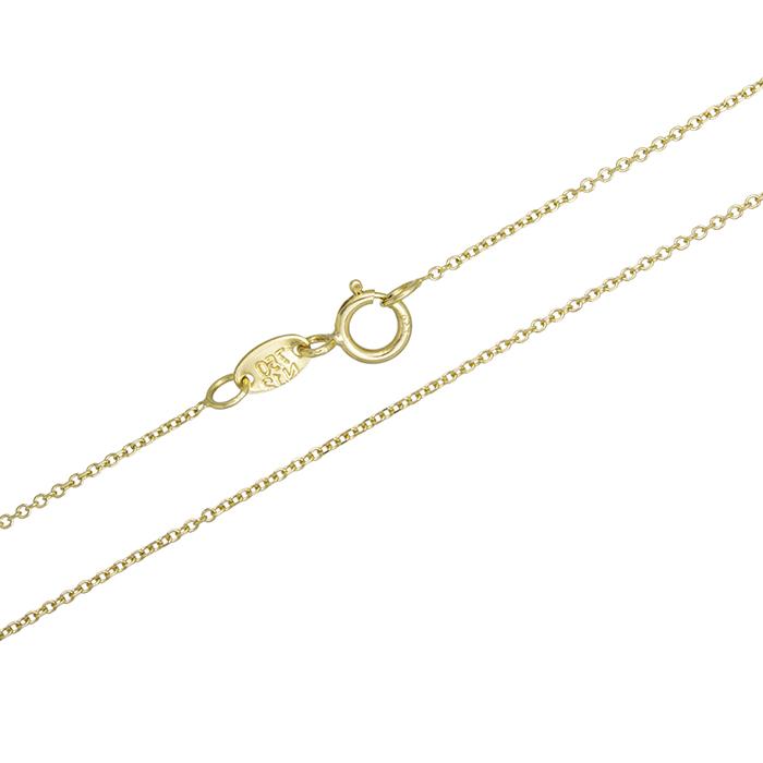 Χρυσή καδένα λαιμού Κ18 029213 029213 Χρυσός 18 Καράτια χρυσά κοσμήματα αλυσίδες   καδένες