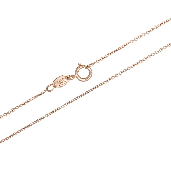 Αλυσίδα λαιμού Κ18 ροζ gold 029214 029214 Χρυσός 18 Καράτια