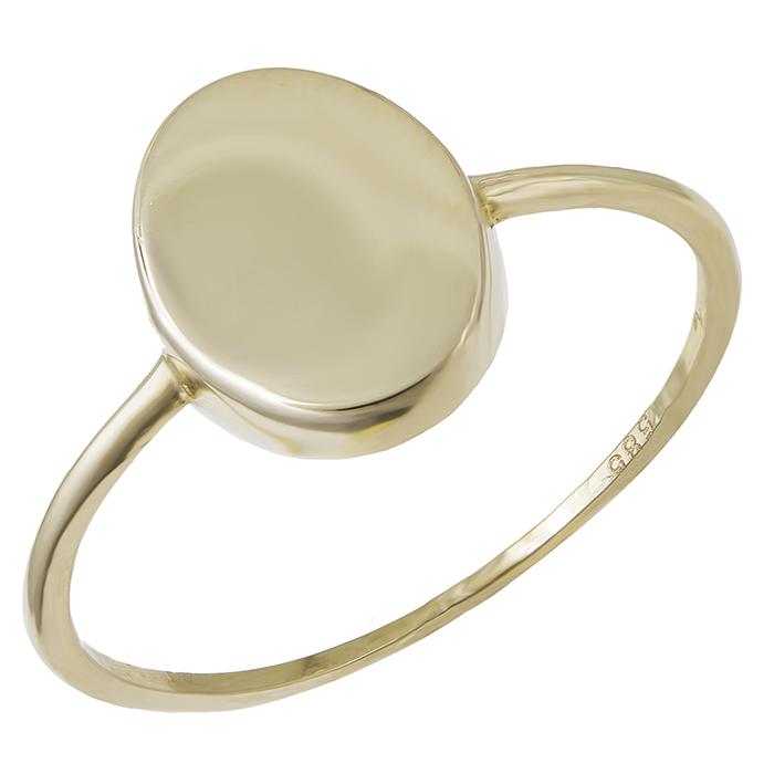 Γυναικείο δαχτυλίδι Κ14 χρυσό οβάλ 029304 029304 Χρυσός 14 Καράτια