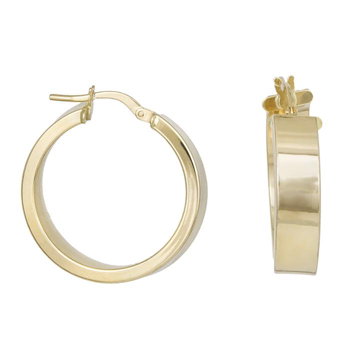 Κρίκοι σκουλαρίκια Κ14 χρυσά 031268 031268 Χρυσός 14 Καράτια