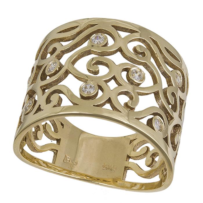 Χρυσό δαχτυλίδι Κ14 με ζιργκόν 031377 031377 Χρυσός 14 Καράτια