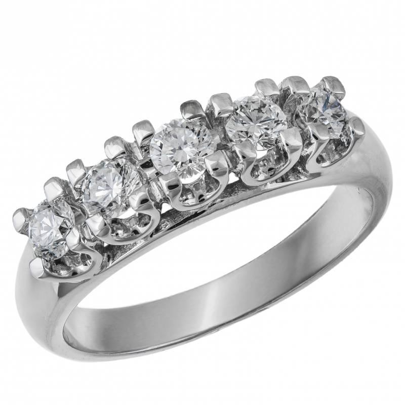 Γυναικείο δαχτυλίδι σειρέ Κ18 033599 033599 Χρυσός 18 Καράτια