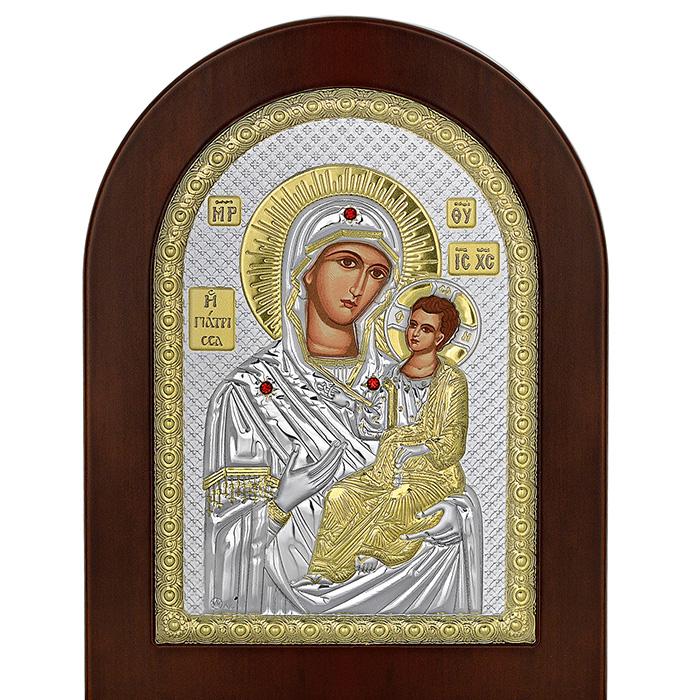 Ασημένια εικόνα της Παναγίας Γιάτρισσας 035075 035075 Ασήμι