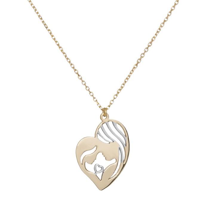 Χρυσό κόσμημα λαιμού Κ9 Mother's Love 035742 035742 Χρυσός 9...