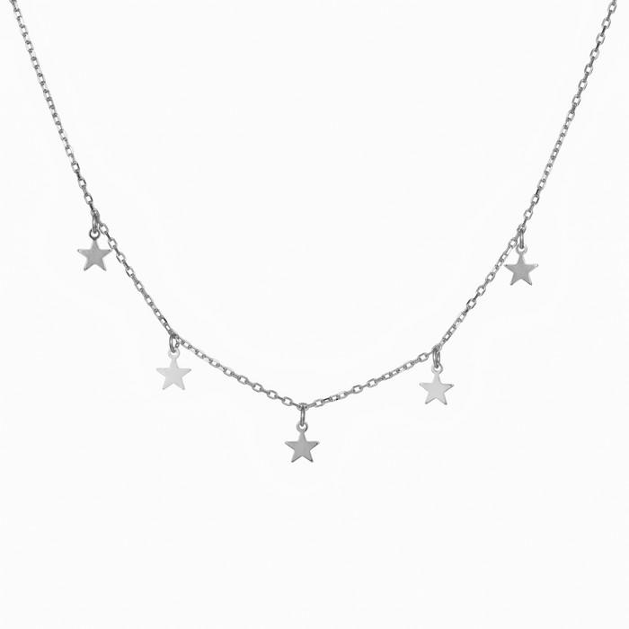 Γυναικείο ασημένιο κολιέ 925 Silver Stars 035693 035693 Ασήμι