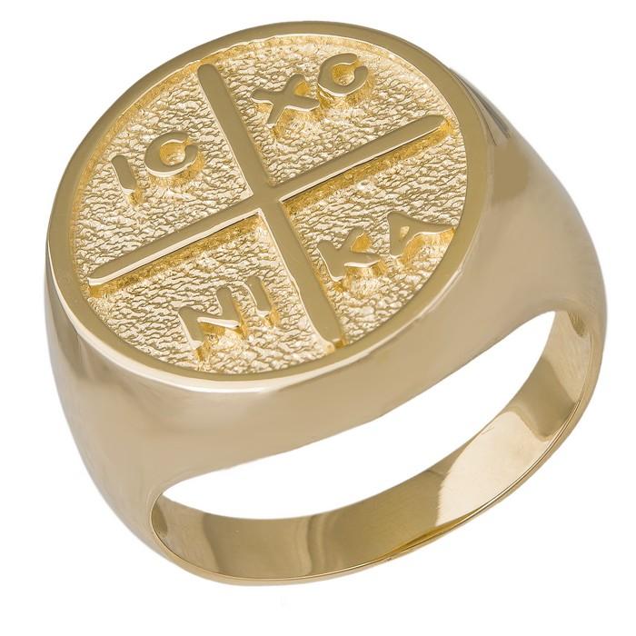 Χρυσό σεβαλιέ δαχτυλίδι Κ14 Κωνσταντινάτο 035750 035750 Χρυσός 14 Καράτια