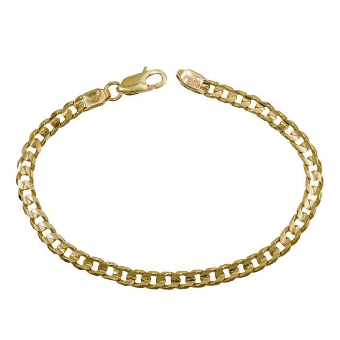 Ανδρική καδένα χεριού από χρυσό Κ9 039352 039352 Χρυσός 9 Καράτια