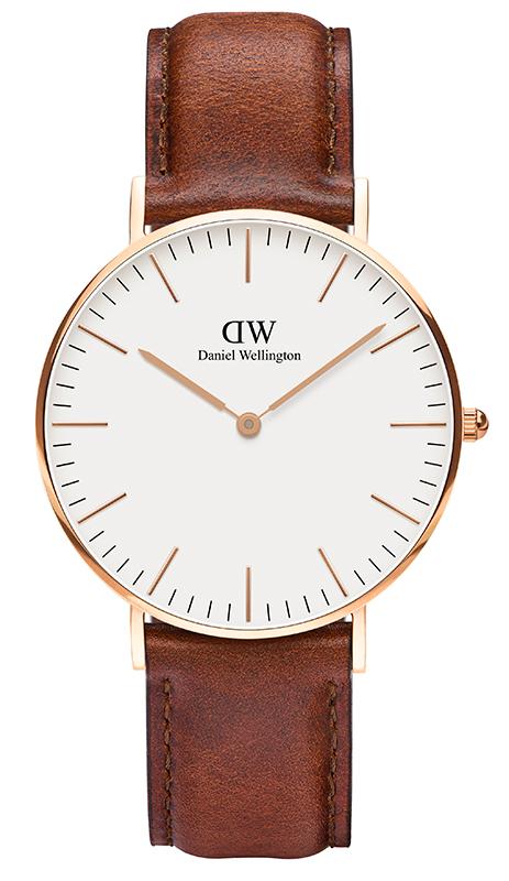Γυναικείο ρολόι Daniel Wellington Classic St Mawes Rose Gold DW00100035 DW00100035 Ατσάλι