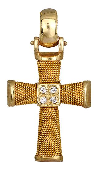 Σταυροί Βάπτισης - Αρραβώνα Χρυσός Σταυρός Κ14 000574 000574 Γυναικείο Χρυσός 14 Καράτια