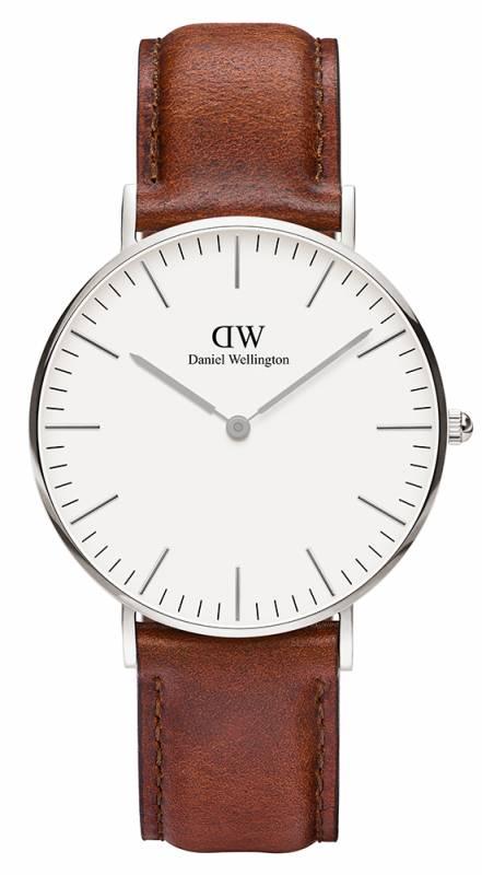Ρολόι Daniel Wellington Classic St Mawes Silver 36,00mm 0607DW 0607DW Ατσάλι