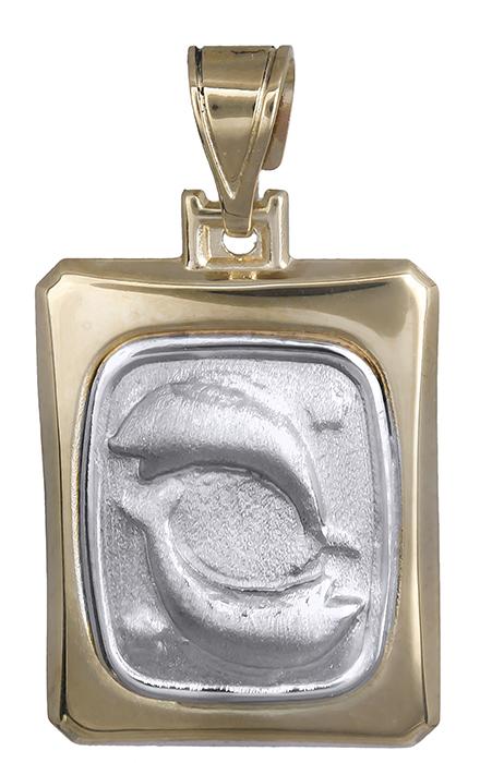 Δίχρωμο Ζώδιο Κ14 000785 000785 Χρυσός 14 Καράτια