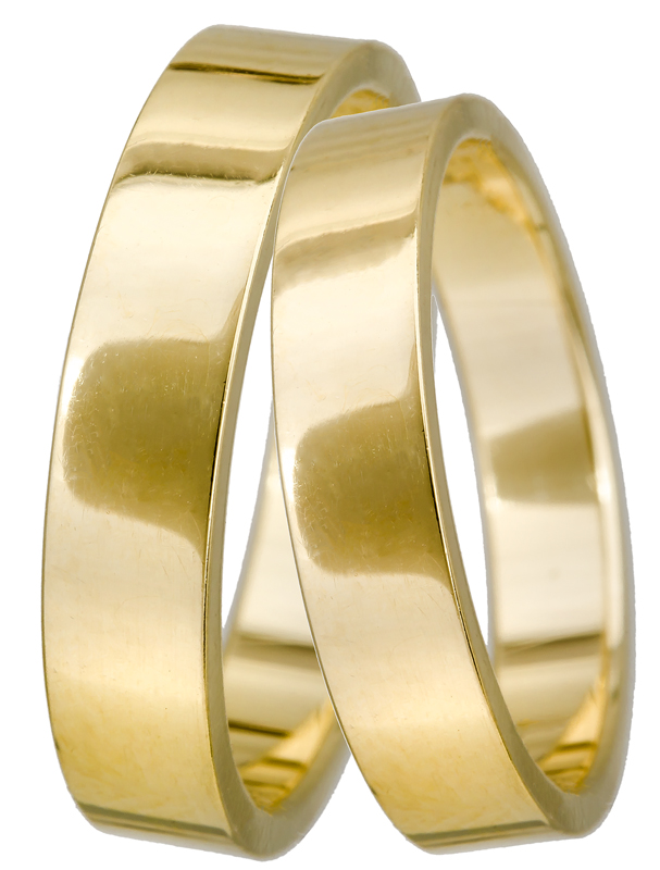 Χρυσές βέρες 14Κ BR0122 Χρυσός 14 Καράτια