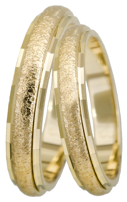 ΟΙΚΟΝΟΜΙΚΕΣ ΒΕΡΕΣ BR0135K Χρυσός 14 Καράτια
