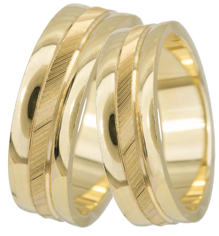 Βέρα χρυσή Κ14 BR0188 Χρυσός 14 Καράτια