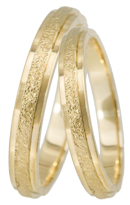 Χρυσή βέρα 14K BR0234K Χρυσός 14 Καράτια