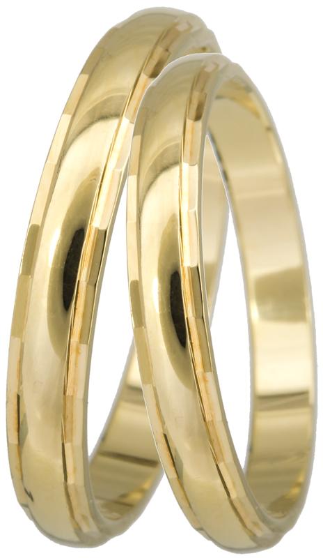 ΒΕΡΕΣ ΓΑΜΟΥ BR0235 Χρυσός 14 Καράτια