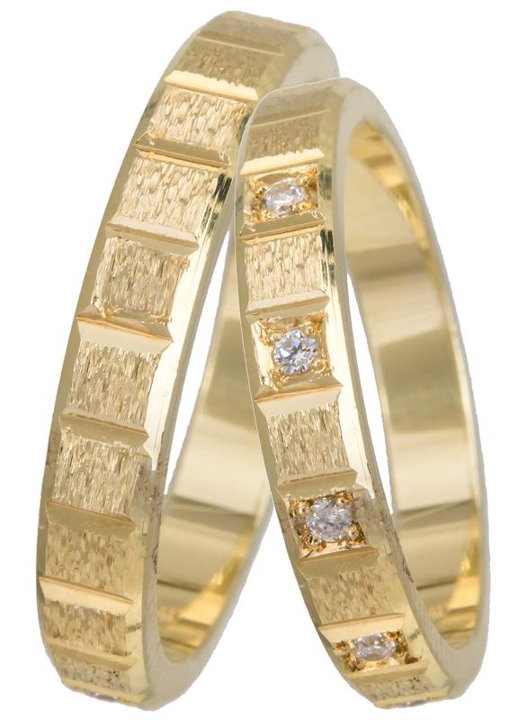 Χρυσές βέρες 18Κ 18BR0273 Χρυσός 18 Καράτια