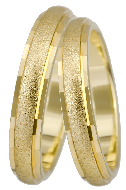 Βέρα K14 BR0289 Χρυσός 14 Καράτια