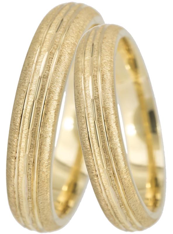 Χρυσές Βέρες BR0351 Χρυσός 14 Καράτια
