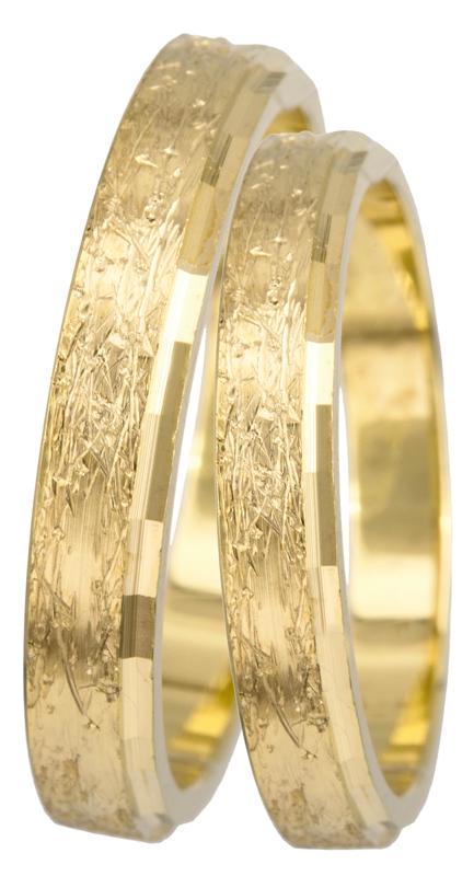 Πρωτότυπες βέρες 14Κ BR0434K BR0434K Χρυσός 14 Καράτια μεμονωμένο τεμάχιο