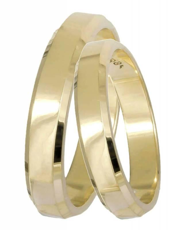 Κλασικές Χρυσές Βέρες BRS061 BRS061 Χρυσός 14 Καράτια