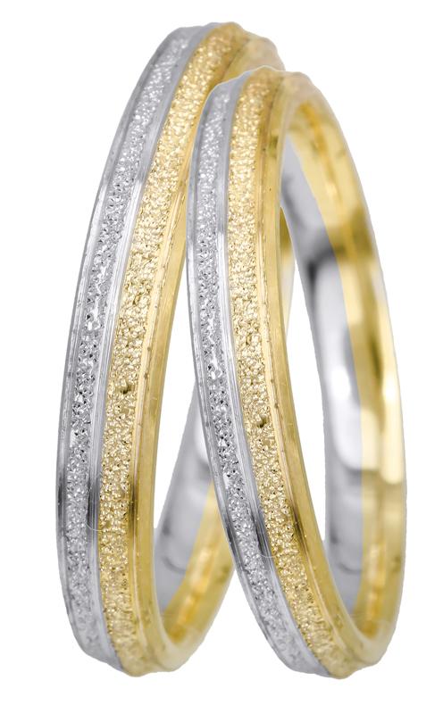 Βέρες γάμου Κ14 BRS0945D BRS0945D Χρυσός 14 Καράτια