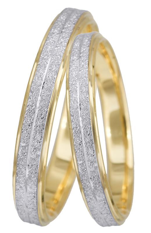 Χειροποίητες βέρες γάμου BRS0947D BRS0947D Χρυσός 14 Καράτια