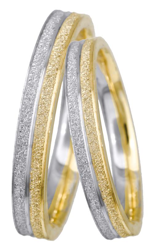Πρωτότυπη βέρα γάμου BRS0956D BRS0956D Χρυσός 14 Καράτια
