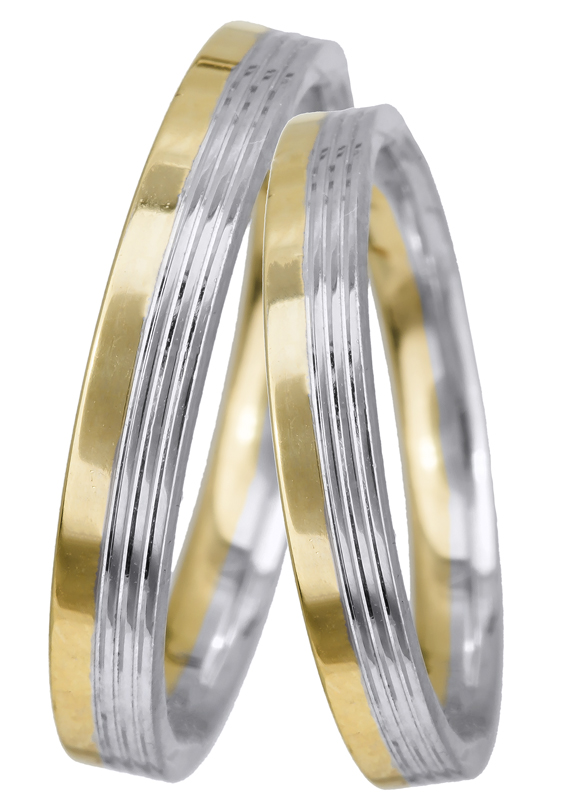Βέρα γάμου BRS0959 BRS0959 Χρυσός 14 Καράτια