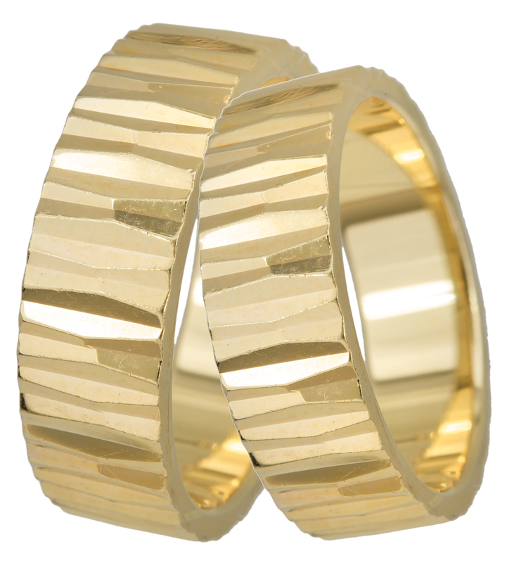 Χρυσή Βέρα Κ14 BR0165 Χρυσός 14 Καράτια