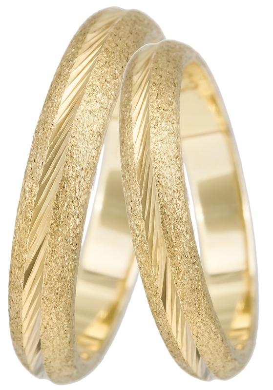 Βέρα χρυσή γάμου K14 BR0263 Χρυσός 14 Καράτια