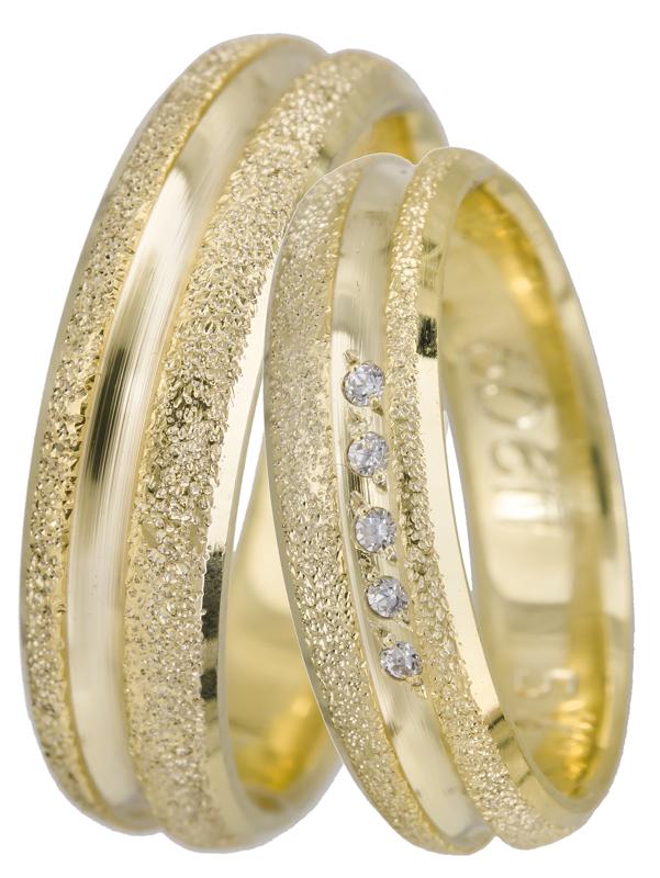 Βέρες γάμου BRS0606 BRS0606 Χρυσός 14 Καράτια